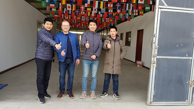 Очередные партнеры в Китае