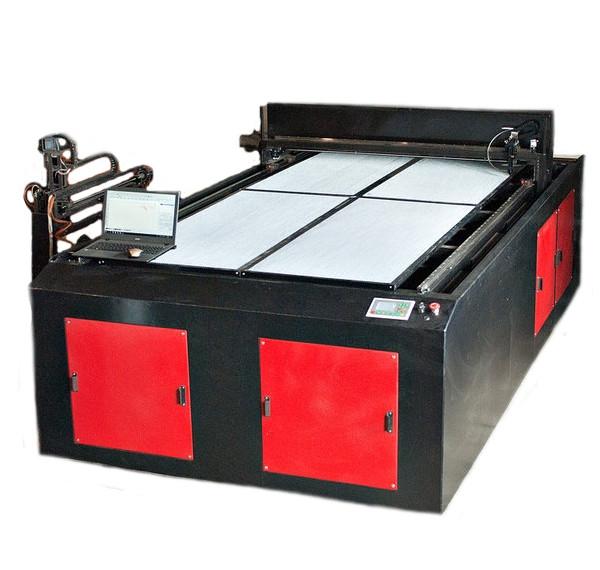 Лазерный станок G-RAY 1530 гравер резчик Ruida 100W