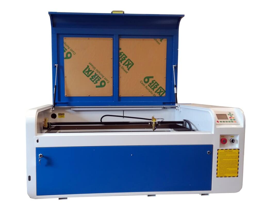 Лазерный станок 1060 гравер резчик с рельсами