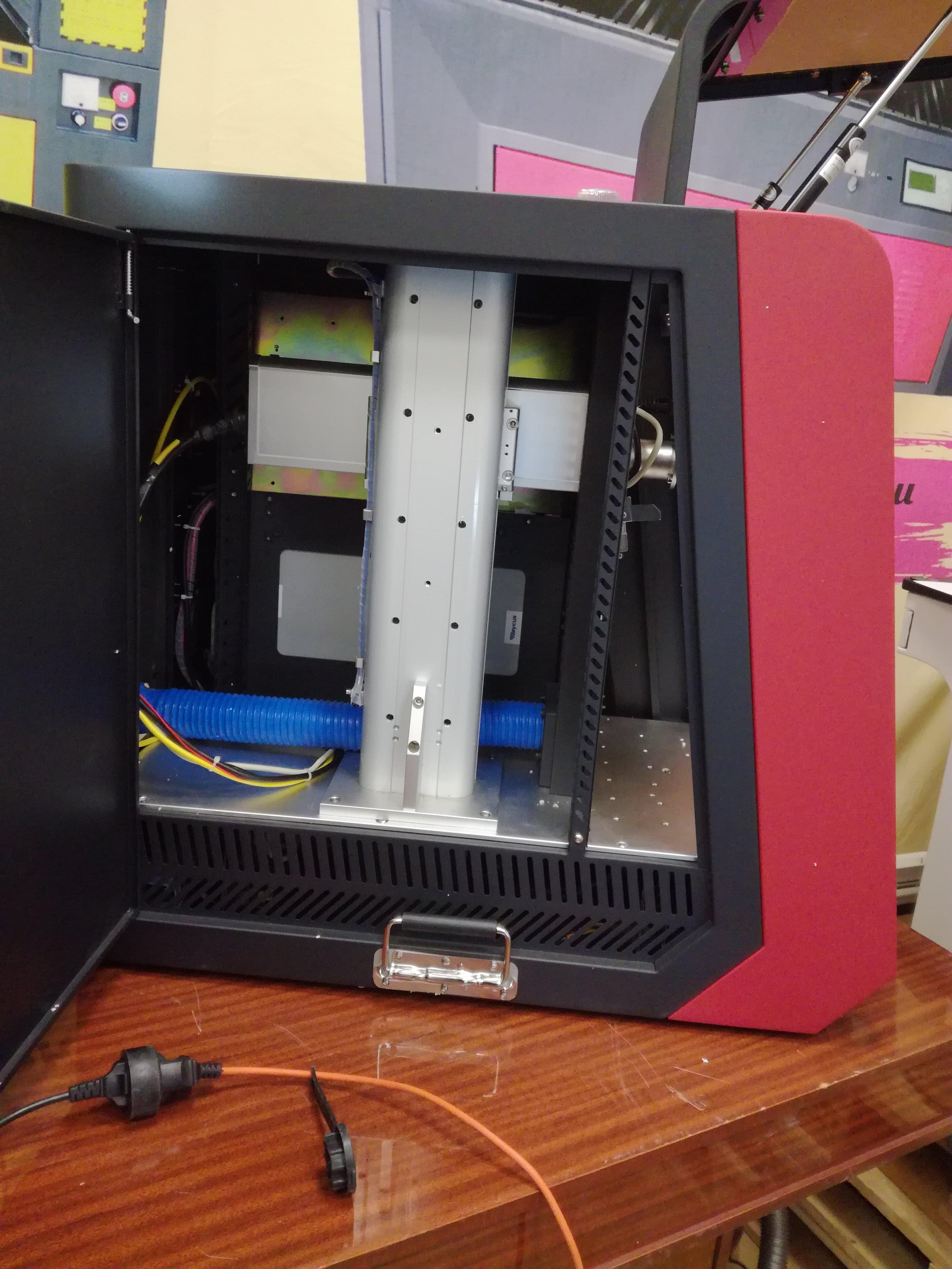 Лазерный маркиратор универсальный X-MAX, 30W закрытый