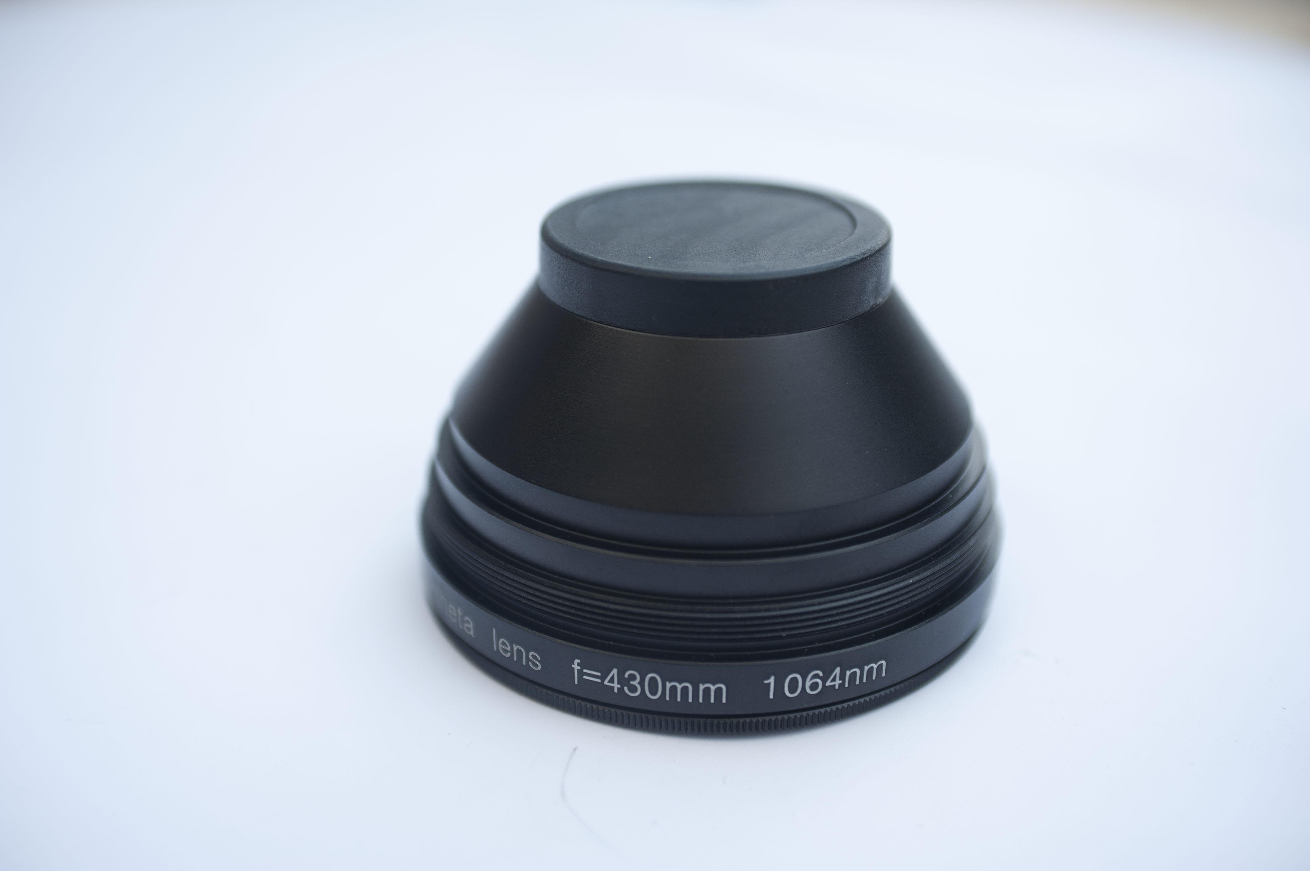 Сканирующая линза для волоконного лазера 300 х 300