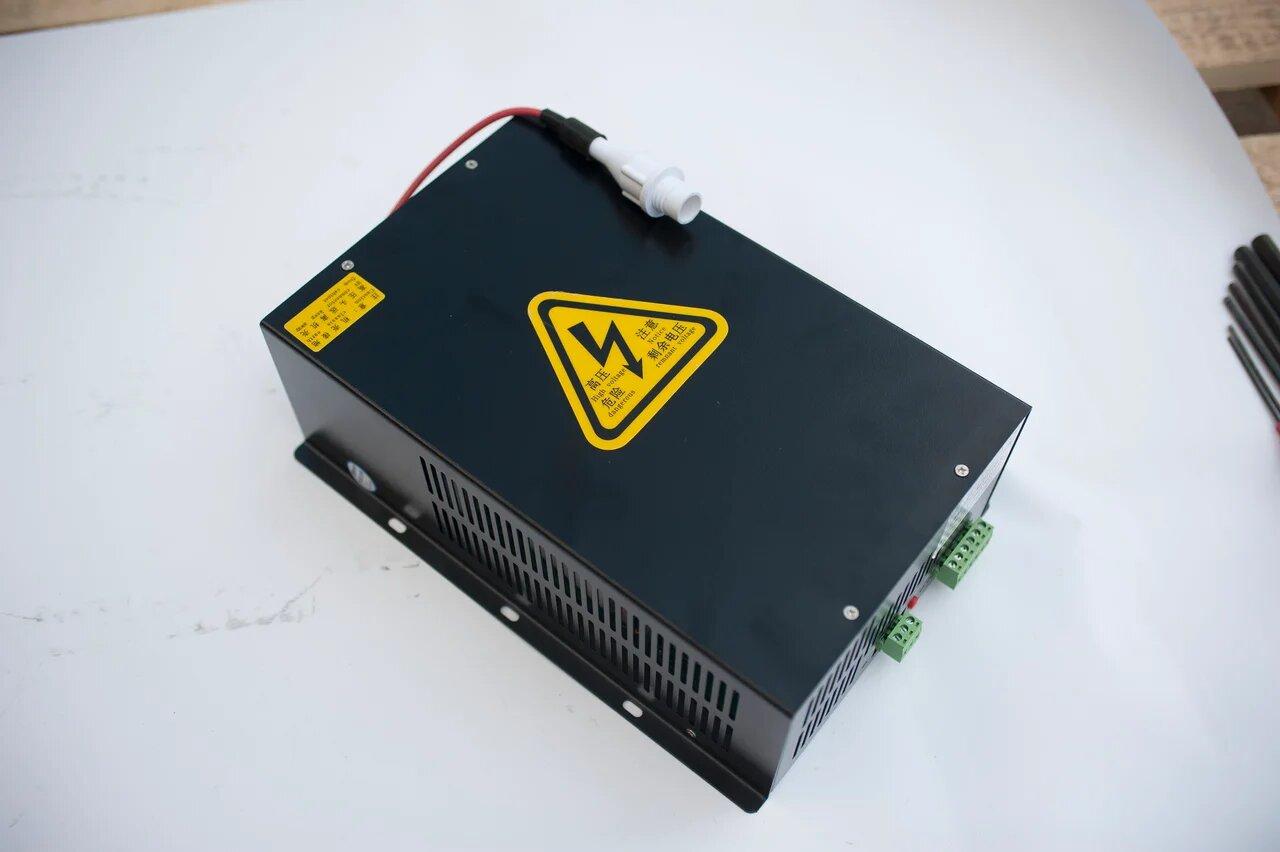 Блок питания с блоком розжига 180 ВАТТ для CO2 лазера