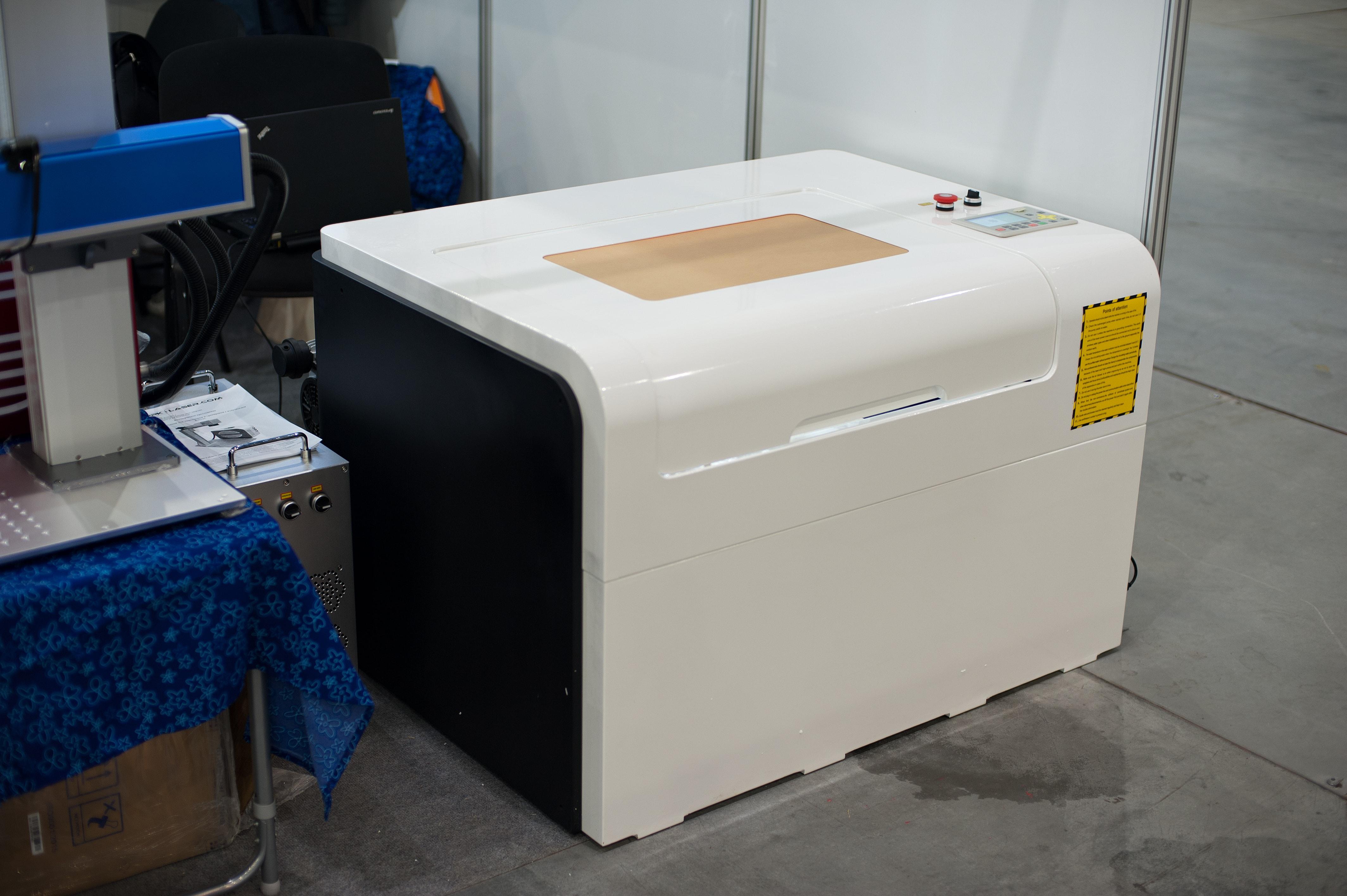 Лазерный станок G-RAY 4060 FASTER гравер резчик / 5-ти фазные двигатели